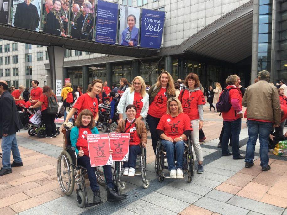 "Lietuvos delegacija ""Freedom Drive 2017"" eitynėse"