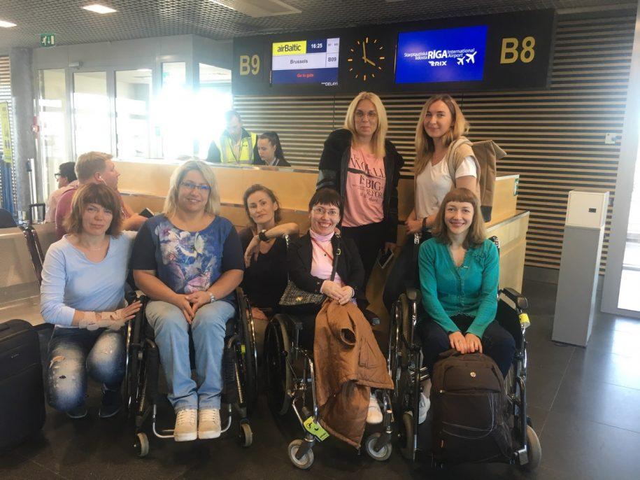 """LNF """"Freedom drive"""" dalyviai pakeliui į Briuselį"""