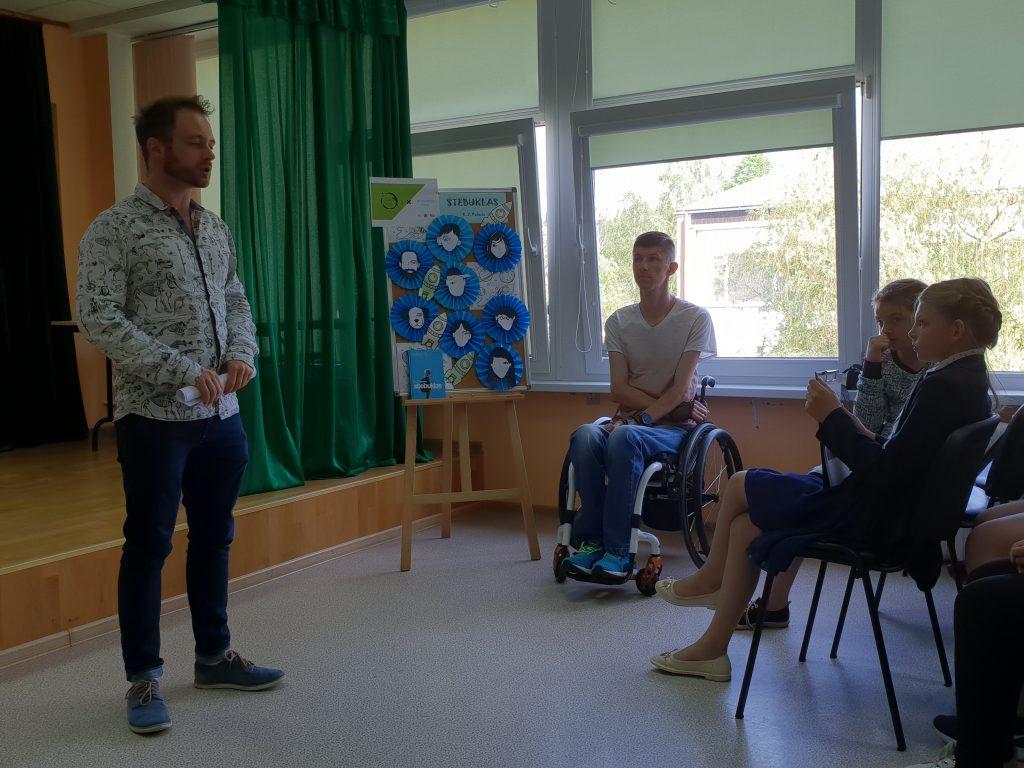 Susitikimas Butrimonių Anos Krepštul gimnazijoje
