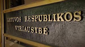 Lietuvos respublikos vyriausybe